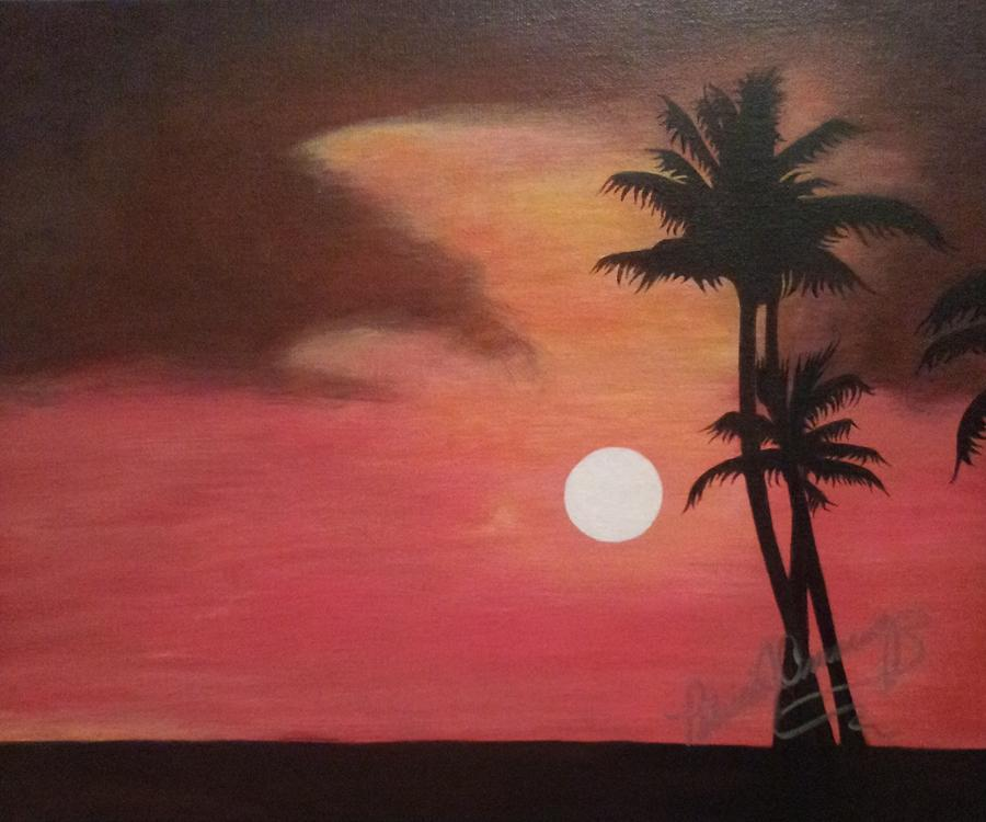 Red Sky at Night by Patricia Brewer-Cummings