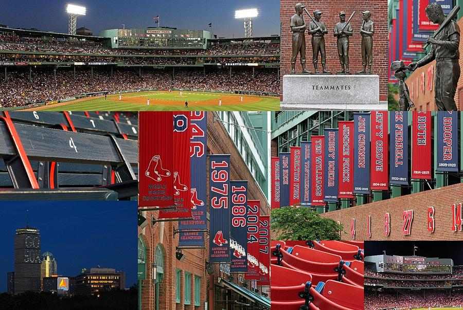 Baseball Photograph - Red Sox Nation by Juergen Roth