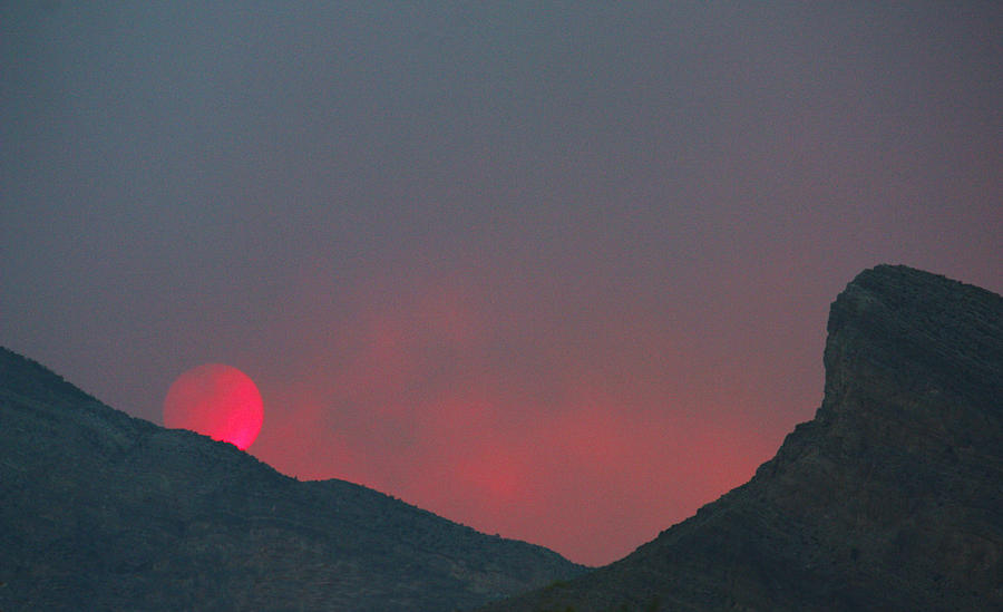 Red Sunset by Dennis Galloway