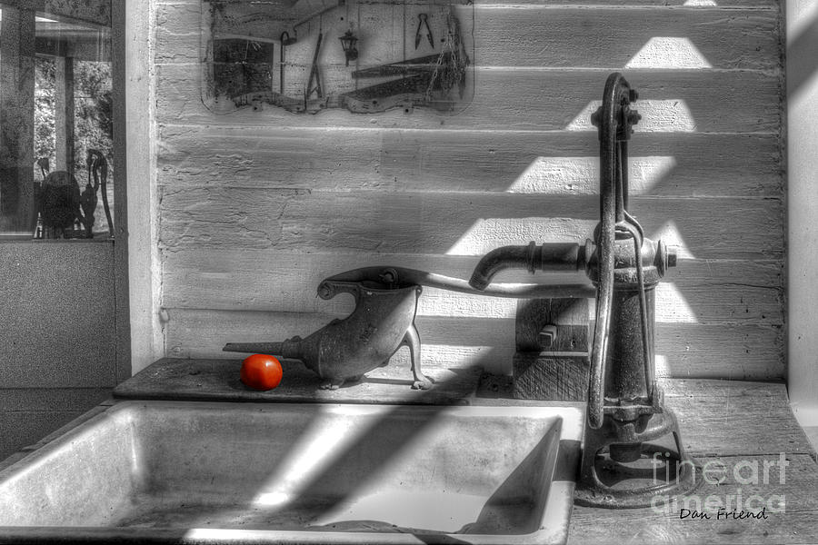 Red Tomato By Sink Photograph by Dan Friend