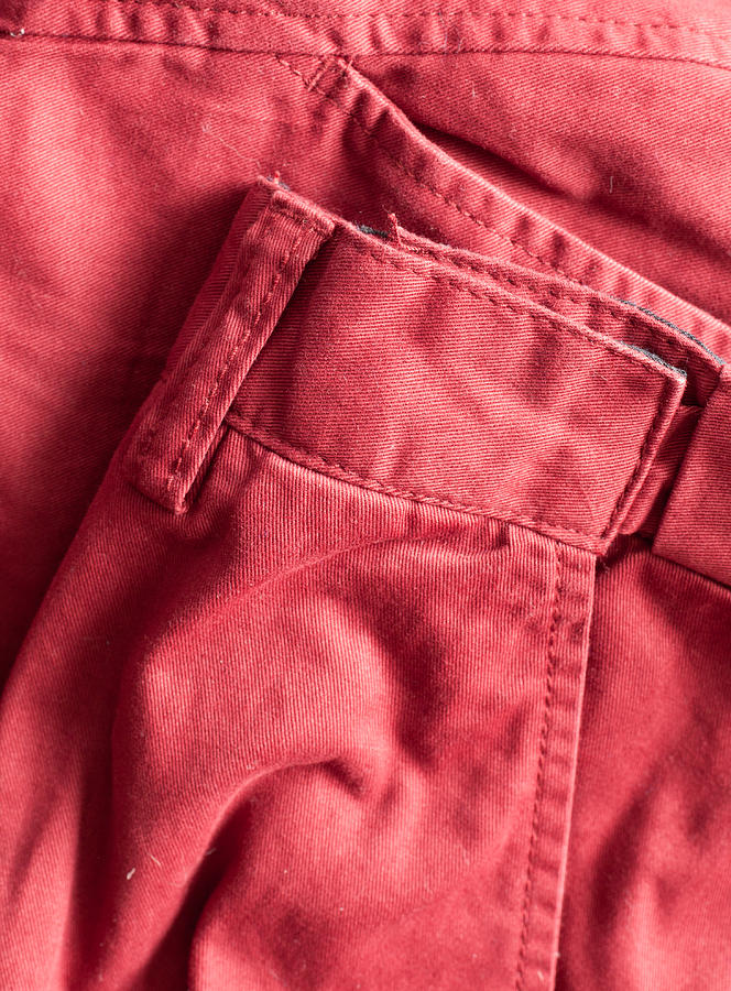Apparel Photograph - Red Trousers by Tom Gowanlock