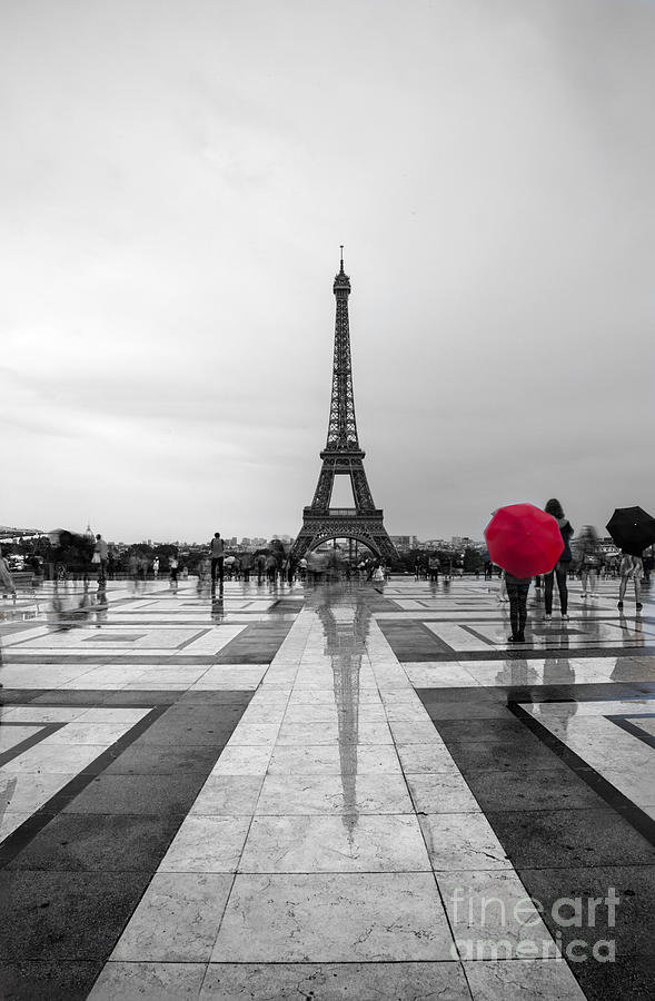 Red Umbrella Photograph By Timothy Johnson
