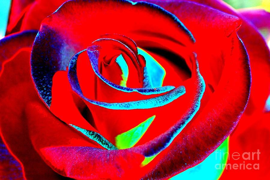Red Velvet Digital Art - Red Velvet by Lorles Lifestyles