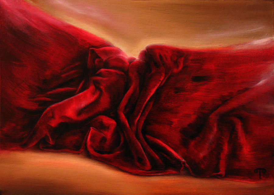 Painting Painting - Red Velvet by Tanya Byrd