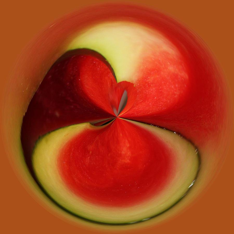 Fruit Photograph - Red Watermelon by Cynthia Guinn