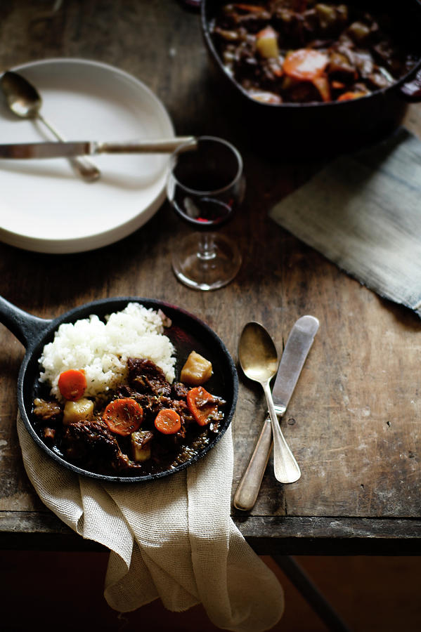 Red Wine Braised Beef Photograph by 200