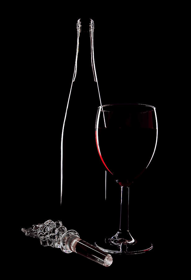 Beverage Photograph - Red Wine by Marcia Colelli