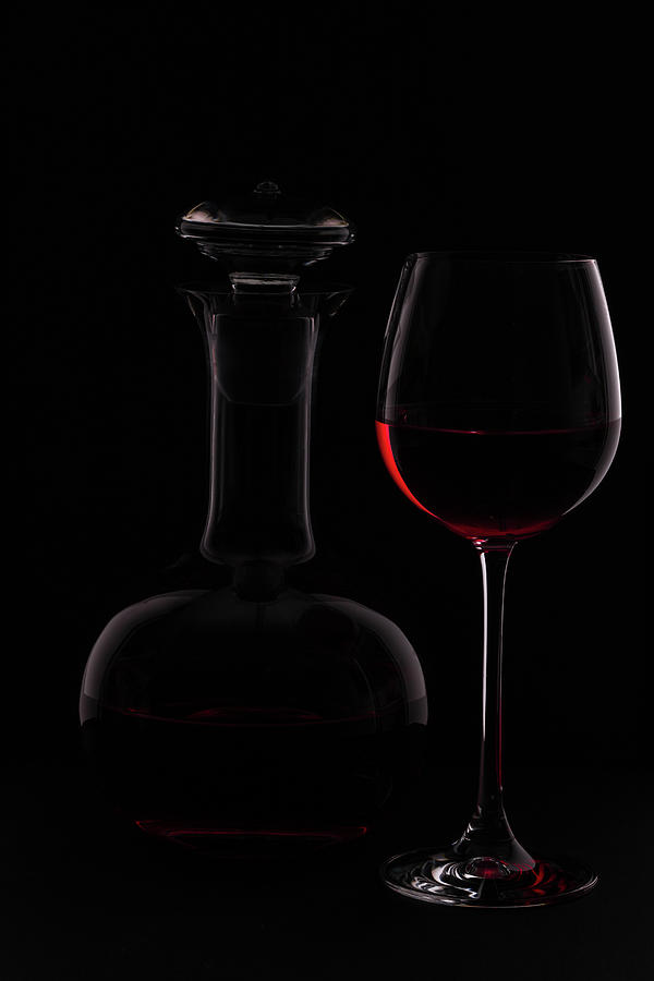 Wine Photograph - Red Wine by Rainer Czerwonka
