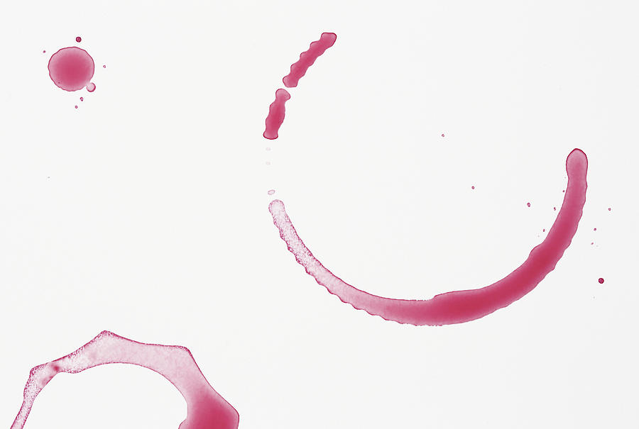 Red Wine Stains Photograph by Vincenzo Lombardo