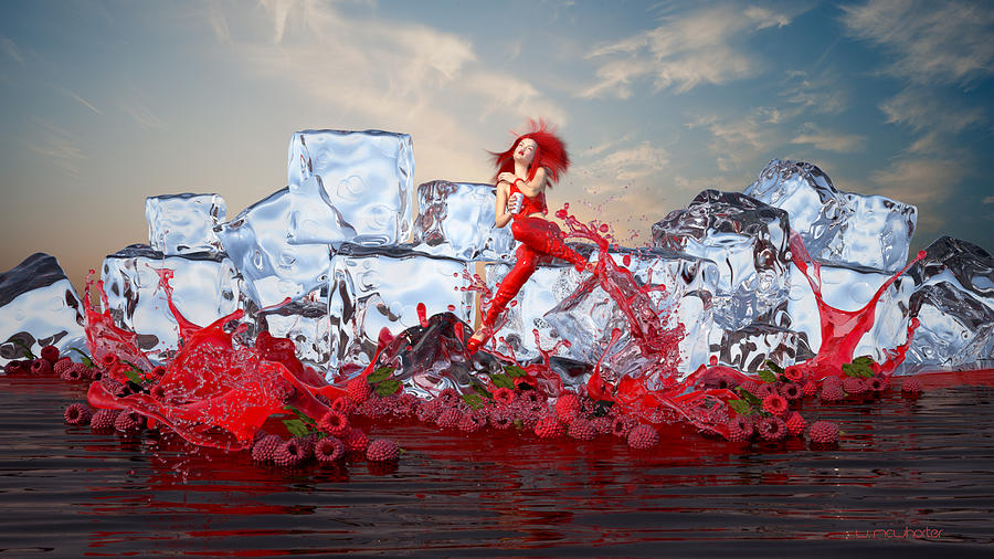 RedBerry IceCafe' by Williem McWhorter
