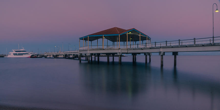 Redcliffe Pier by Peter Lombard