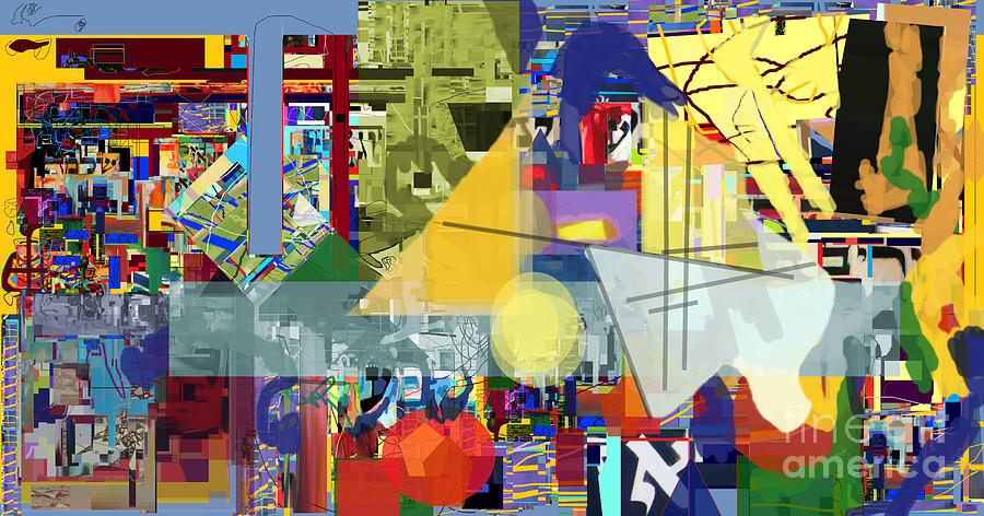 Redemption Digital Art - Redemption Prayer 1g by David Baruch Wolk