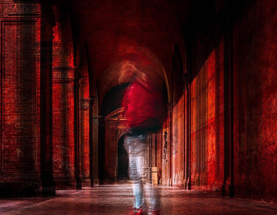 Red Photograph - Redfluid by Carmine Chiriac??