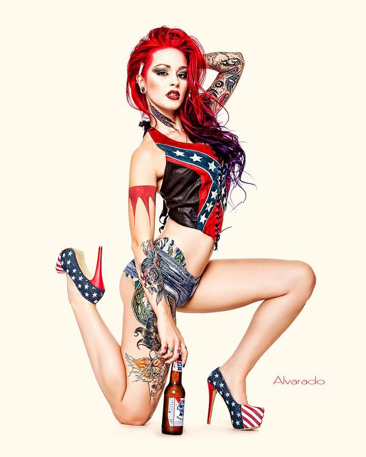 Naked Pin Up Girls Tattoos