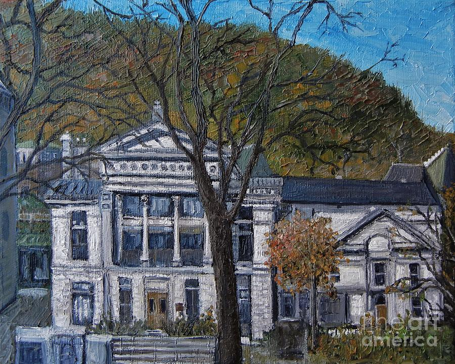 Mcgill University Painting - Redpath Museum by Reb Frost