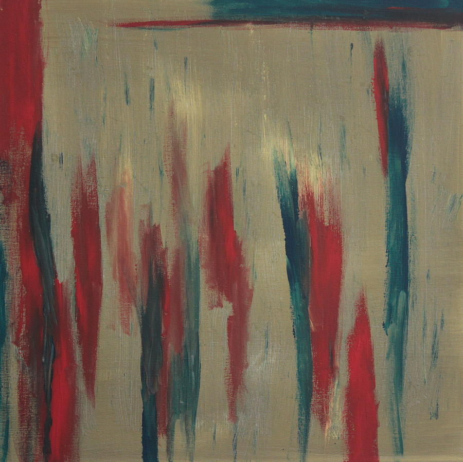 Abstract Painting - Reds by Joanna Aktas