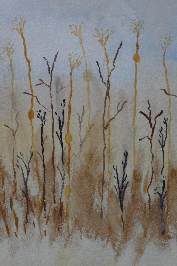 Weeds Painting - Reeds And Weeds by Catherine Arcolio