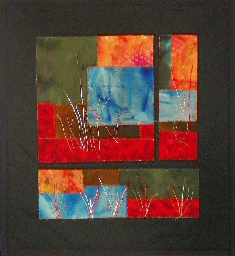 Nature Mixed Media - Reeds by Jenny Williams