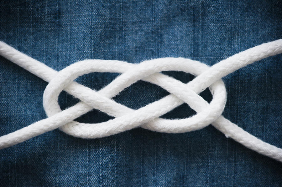 Reef Knot Photograph by Jamie Grill