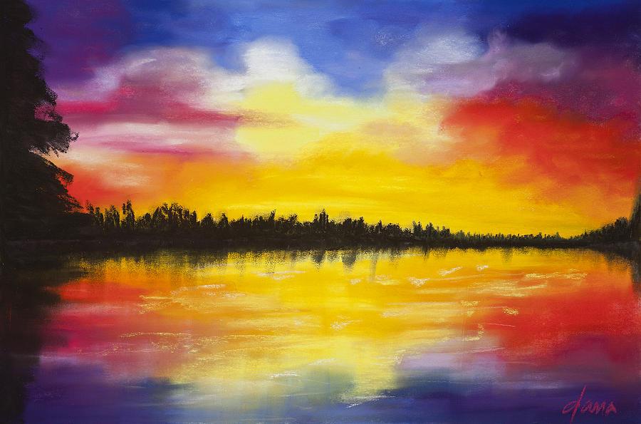 Sunset Pastel - Reflect by Dana Strotheide