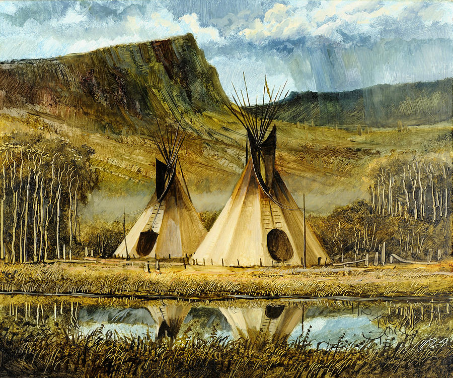 D Paintings On Canvas Indian