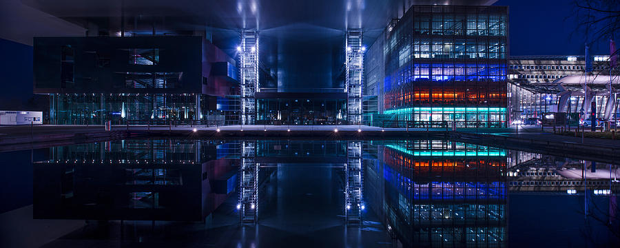 Architecture Photograph - Reflecting Arts And Culture by Michael Walker
