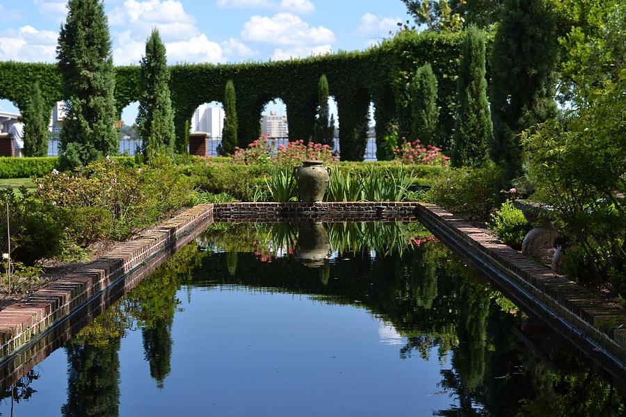 Reflecting Digital Art - Reflecting Pond by Victoria Clark