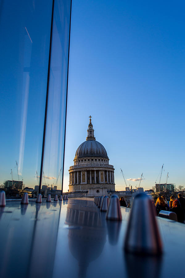 St Paul Photograph - Reflecting St Pauls by Andrew Lalchan