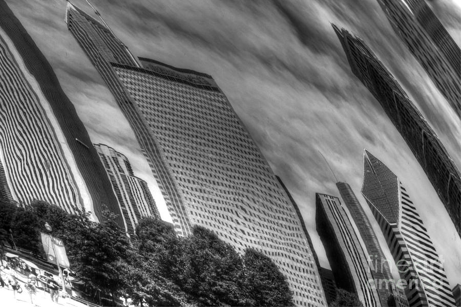 Buildings Photograph - Reflection 36 by Jim Wright