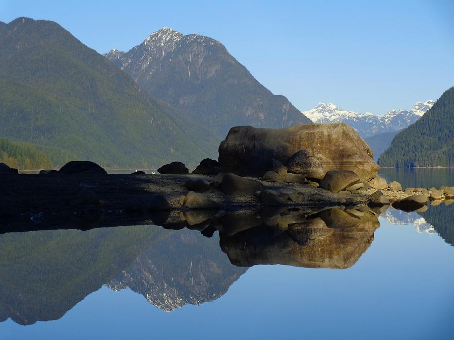 Reflections On Alouette Lake - Golden Ears Prov. Park, British Columbia, Canada Photograph