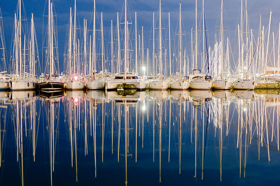 Reflection In Blue Photograph by Photography Of Beauty And Mystery