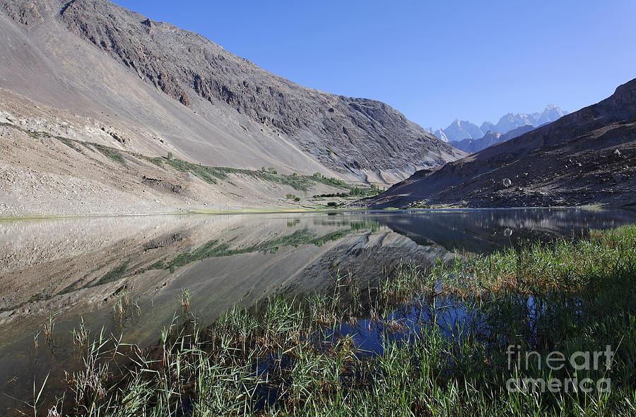 Borith Lake Photograph - Reflection In Borith Lake by Robert Preston