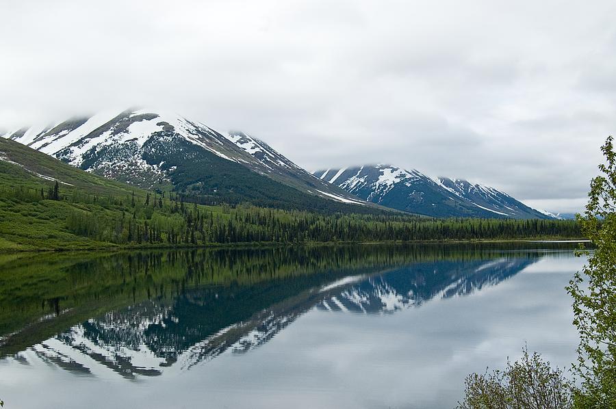 Montana Photograph - Reflection Montana  by Jeffrey Akerson