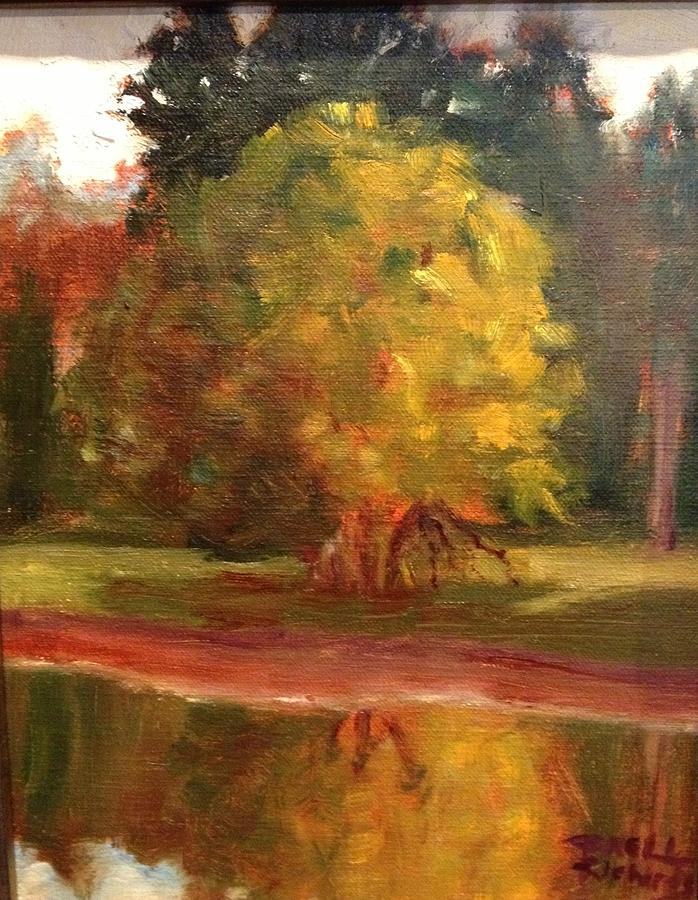 Tree Painting - Reflection by Jenell Richards
