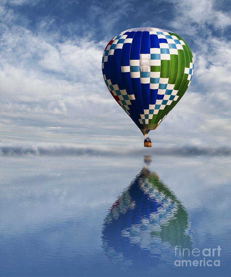 Above Photograph - Reflection by Juli Scalzi