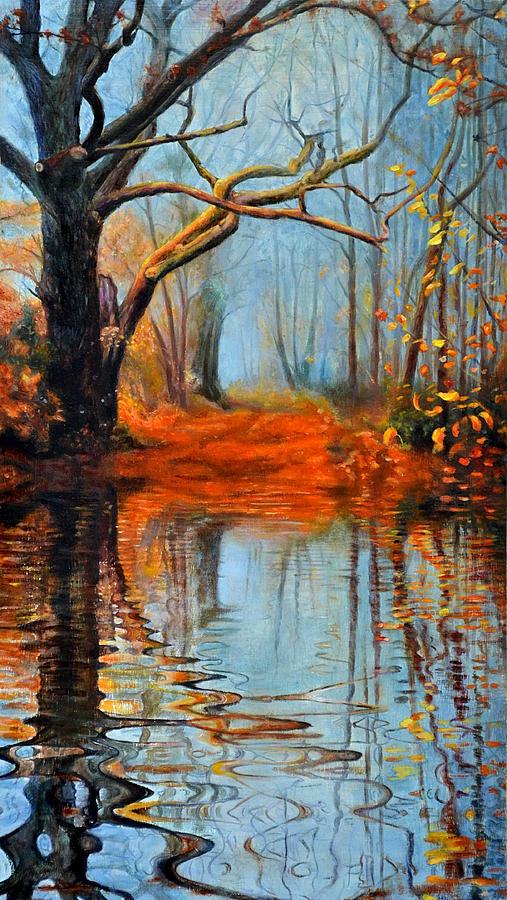 Maxx Painting - Reflection by Maxx Phoenixx