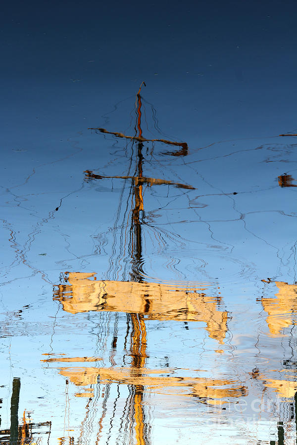 Newport Photograph - Reflection Of A Golden Age by Butch Lombardi