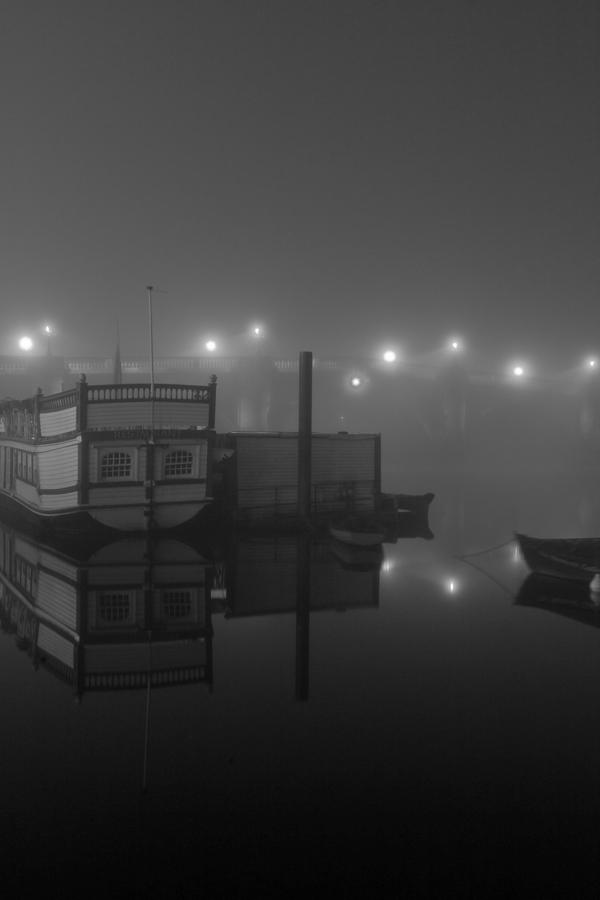 Reflection On Misty Thames Photograph