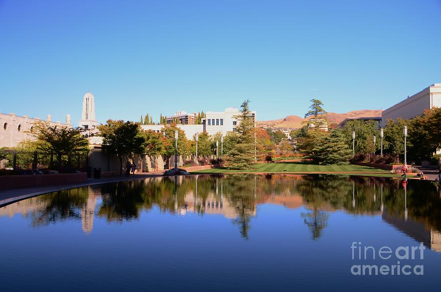 Reflection Photograph - Reflection Pond by Kathleen Struckle