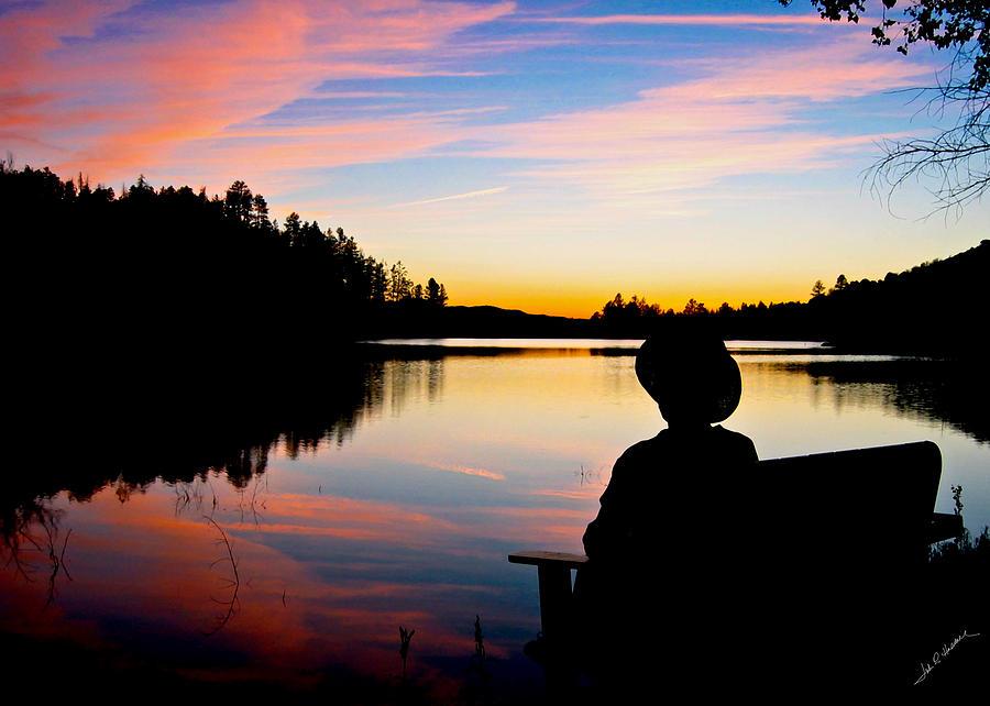 Reflection Photograph - Reflection Reflection by John Haldane