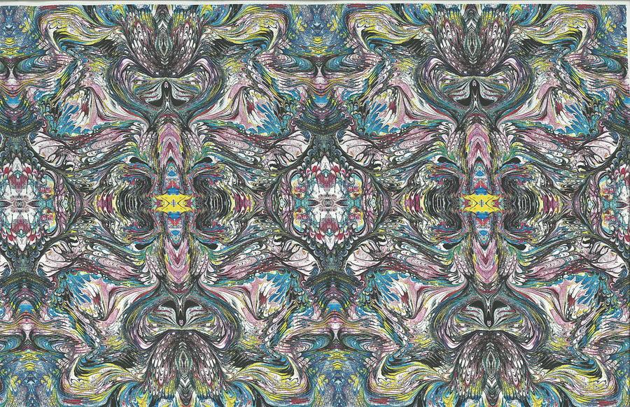 Reflection Mixed Media by Renee Sugar