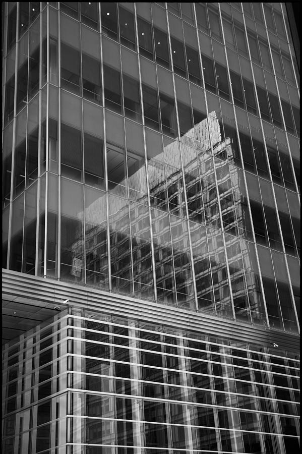 Reflection Photograph - Reflections and Lines by Geoff Scott