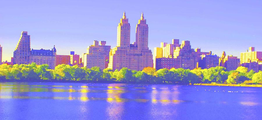Central Park Photograph - Reflections by Dan Hilsenrath