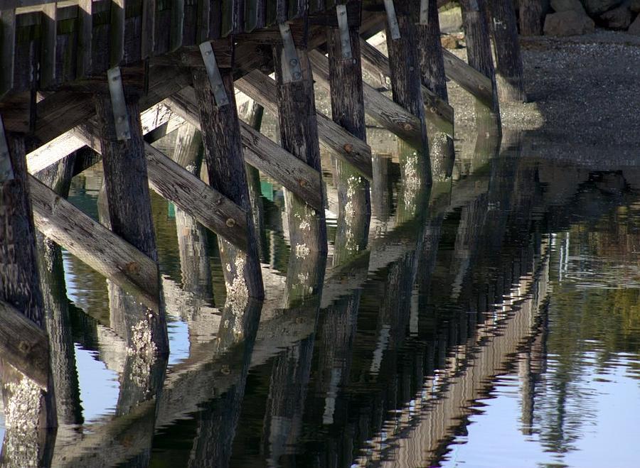 Water Photograph - Reflections by Deanna Proffitt