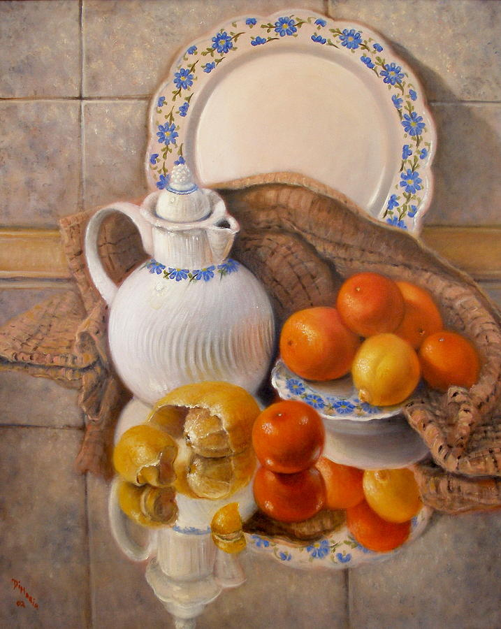 Realism Painting - Reflections by Donelli  DiMaria
