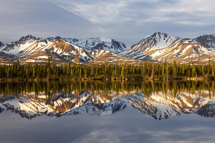 Alaska Photograph - Reflections In Alaska by Javier Fores