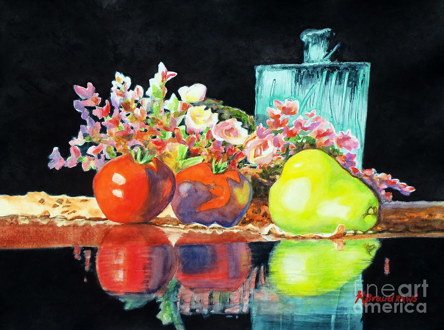 Painting Painting - Reflections In Color by Kathy Braud