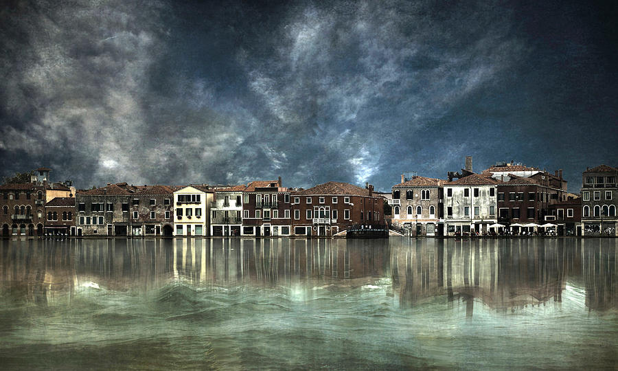 Architecture Photograph - Reflections In Venice by Nieves. Bautista