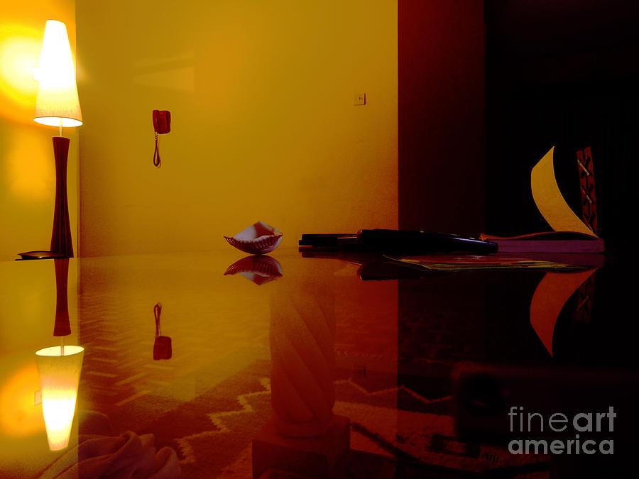 Interior Digital Art - Reflections  by James Njuguna