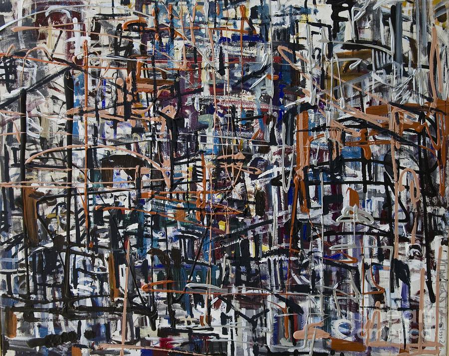 Urban Painting - Reflections by Jelena Ignjatovic